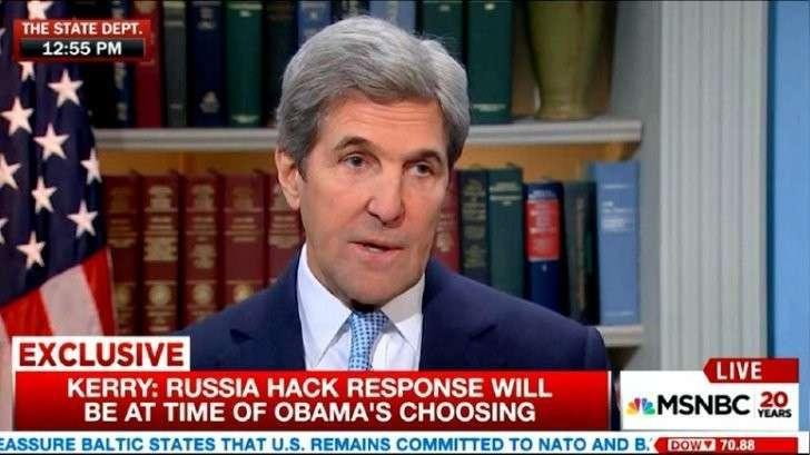 Джон Керри: российское «вторжение» сильно ударило по политической системе США