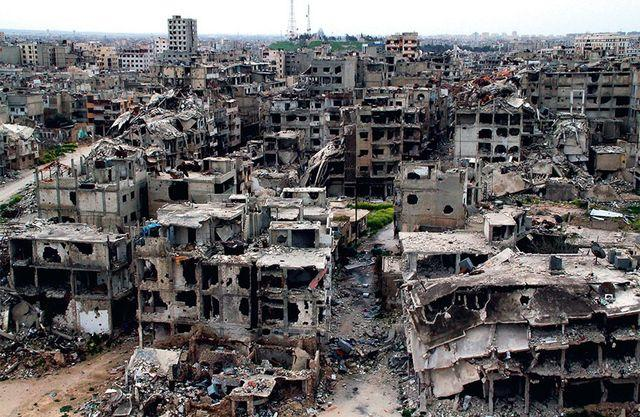 Алеппо, предварительные итоги кровавой оккупации ужасают
