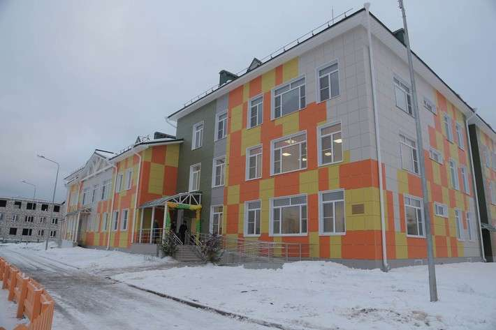 В Вологодской области открыли новый детский сад Сделано у нас, политика, факты