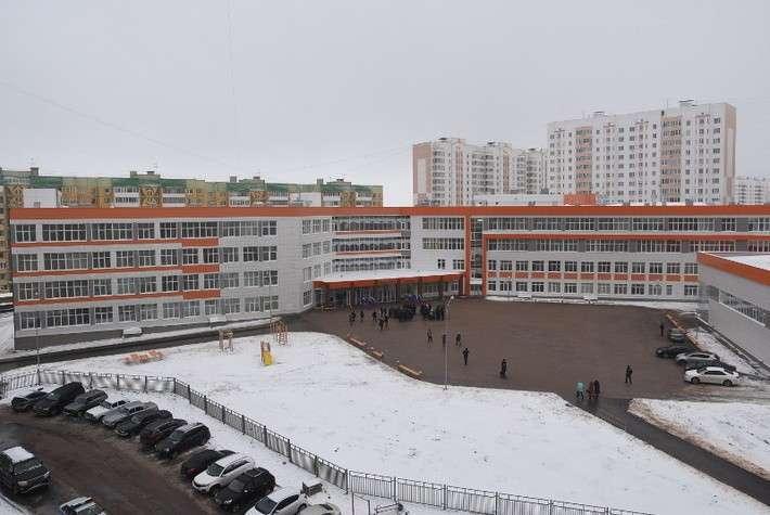 В Курске открыта новая школа 19.12.2016 Сделано у нас, политика, факты