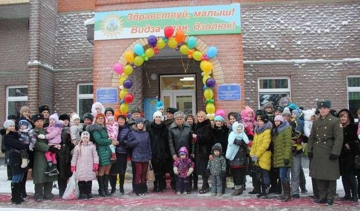 В Коми открыли дополнительное отделение детского сада Сделано у нас, политика, факты
