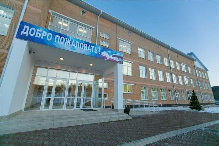 Сельская школа в Красноярском крае получила новое здание Сделано у нас, политика, факты