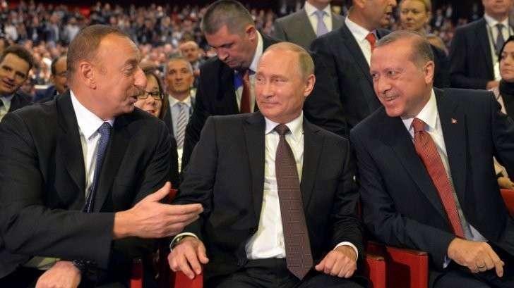 SZ: неприязнь к Западу у Путина и Эрдогана оказалась сильнее разногласий по Сирии