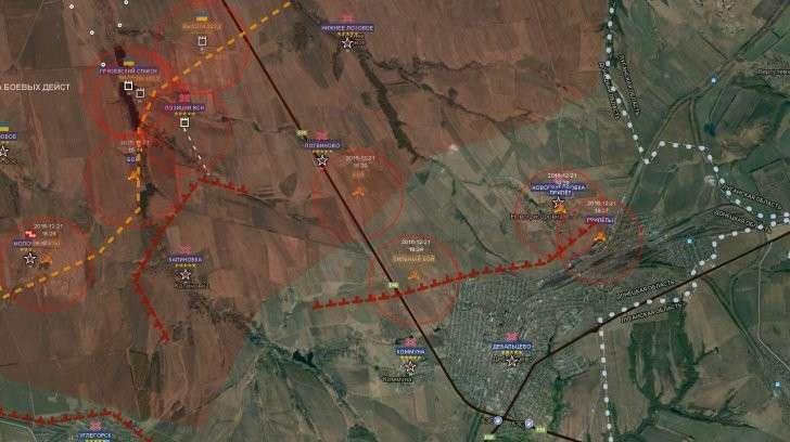 Сводка из ДНР: Под Дебальцево солдат ВСУ гнали на убой, а технику берегли