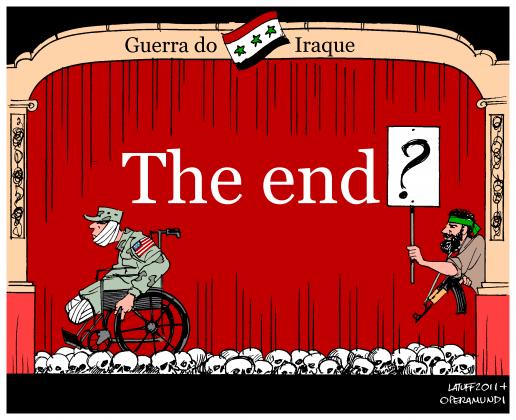 Карикатура — «Конец»