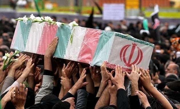 Убитый иранский солдат