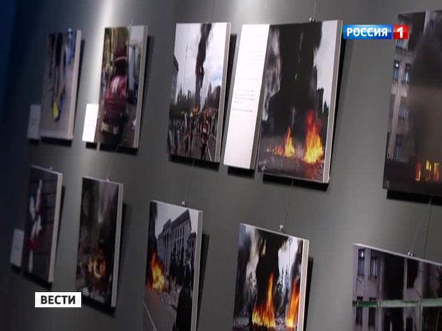На выставке «Одесская Хатынь» украинцы устроили разгром
