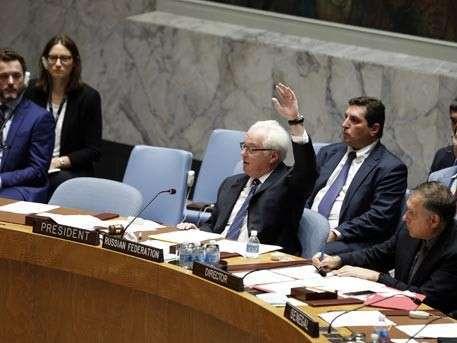 Российская Федерация созвала встречу Совбеза ООН для обсуждения перемирия вСирии