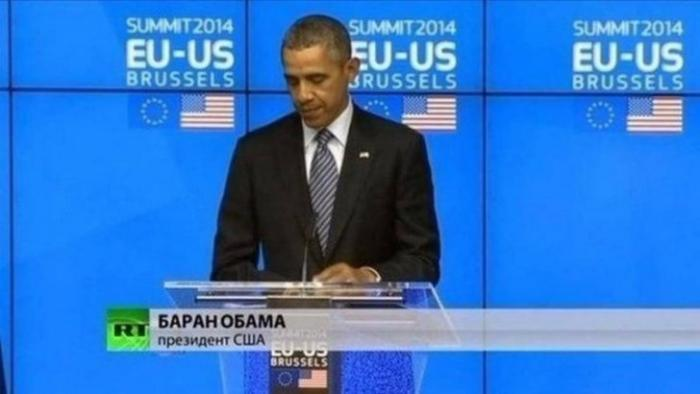 """""""Действия Путина в связи с высылкой дипломатов демонстрируют слабость России"""", - сказал Обама и заплакал"""