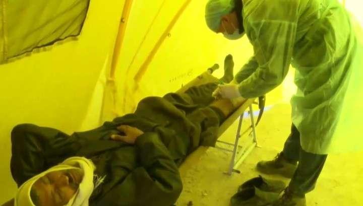 Владимир Путин распорядился передать в дар Сирии аэромобильный госпиталь