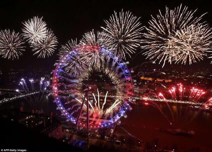 Лондон беспредела: как британцы отметили Новый Год