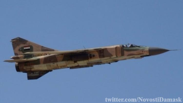 Работа авиации Асада: «горы» трупов джихадистов и сожженная бронетехника