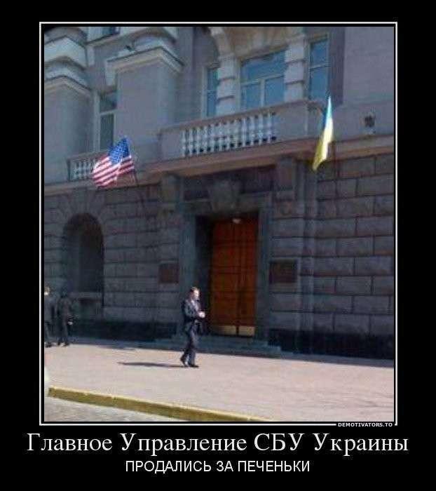 Тень пробирки Пауэлла над Украиной