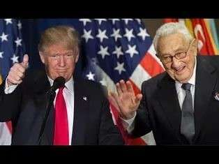 Разговор Киссинджера и Трампа, случайно подслушанный уборщицей из китайской разведки.