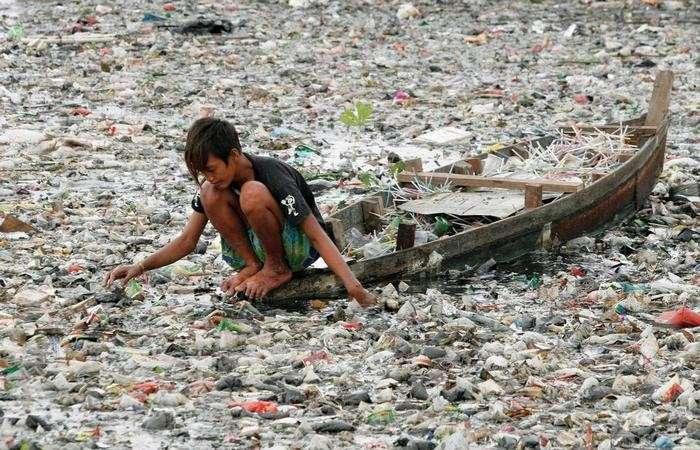 Экологическая проблема: 3 млн пластиковых бутылок.