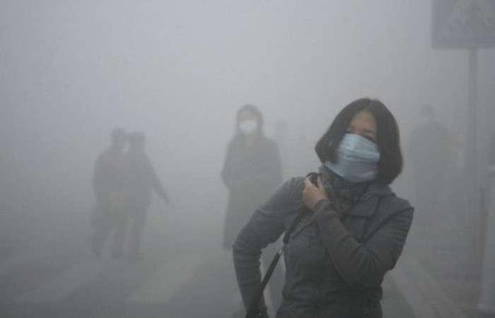 Экологическая проблема: пекинский воздух.
