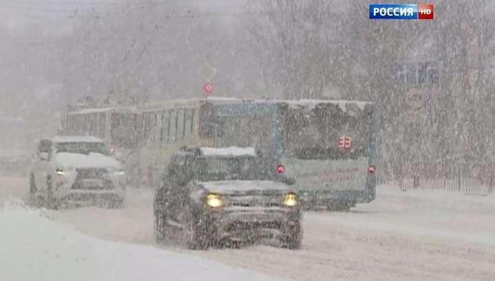 Мощный снегопад с метелью обрушится на Москву в среду, 4 января