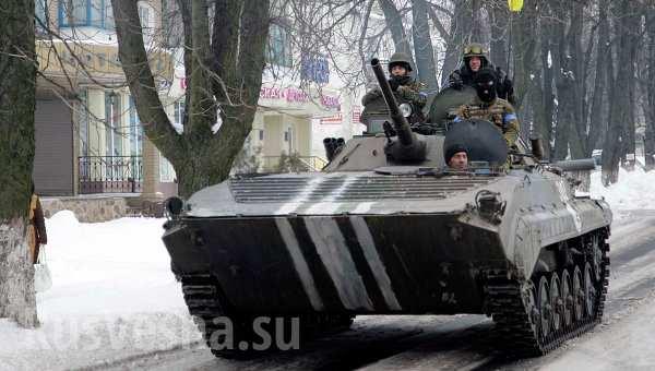 Бои в ДНР: Позиционные бои под Дебальцево, уничтожение артбатарей укропов