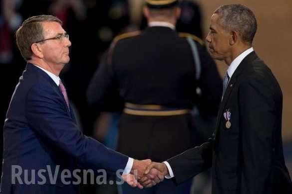 Американский солдат рухнул в обморок во время прощальной речи Обамы | Русская весна