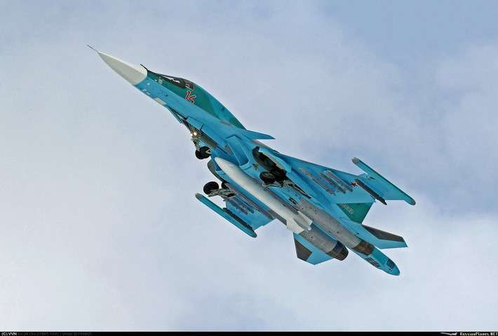 Поставки боевых самолетов вВооруженные Силы России в2016 году