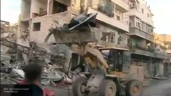 Жители Алеппо требуют, чтобы Запад платил за восстановление города