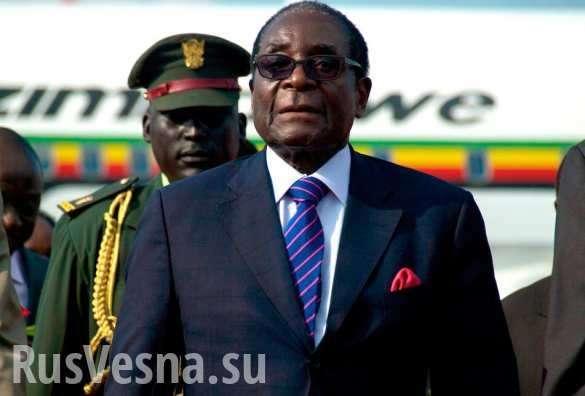 Президент Зимбабве пообещал освободить заключенных геев, когда один изнихзабеременеет | Русская весна
