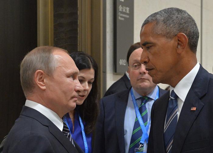 Владимир Путин борется с Обамой за многополярный Мир, счёт: 6 : 0