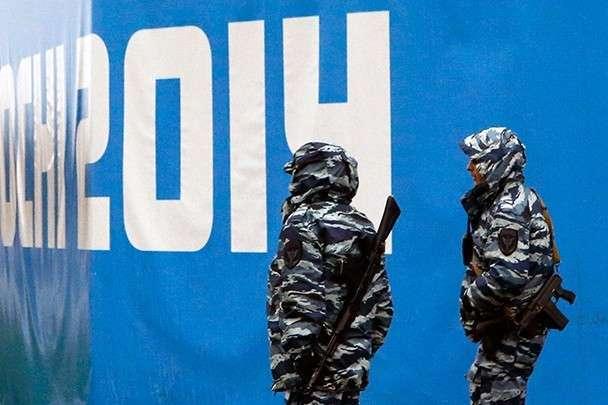 Фото факт: Объекты Олимпиады в Сочи взяты под усиленный контроль