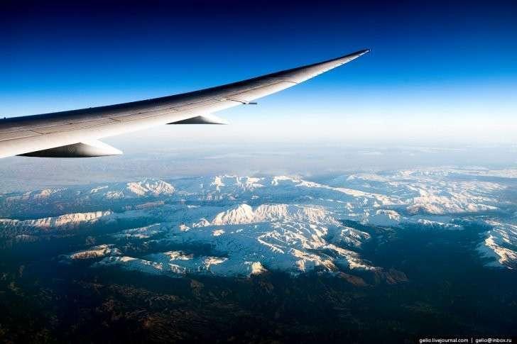 Из окна самолёта — 2016: завораживающие места нашей планеты с высоты птичьего полёта, фоторепортаж