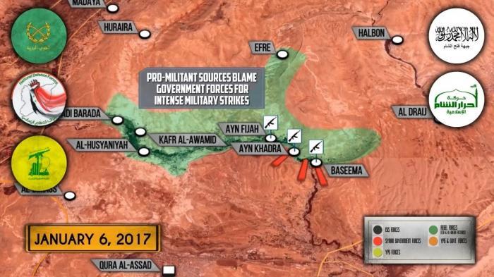 Военная обстановка в Сирии: Турция усиливает наступление на Эль-Баб