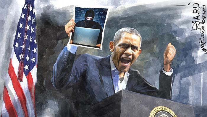 Белыми нитками: как Обама «сшил» дело «русских хакеров»