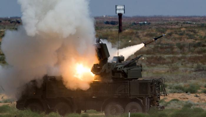 «Панцирь-С» заступил на боевое дежурство в Крыму