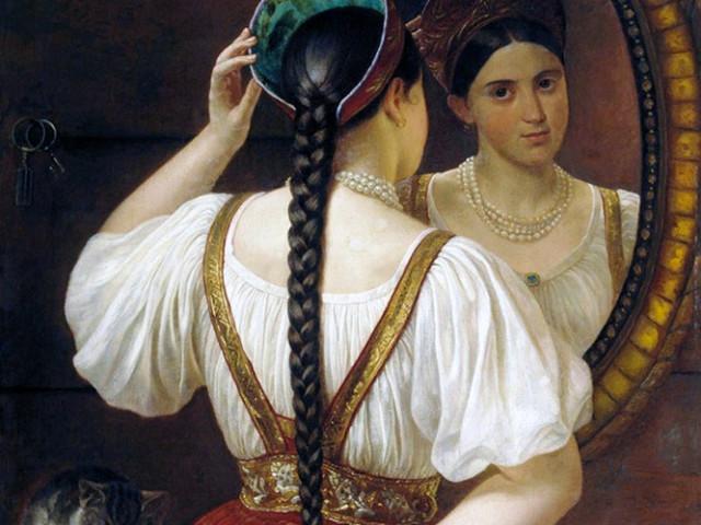 Почему женщины на Руси никогда не стригли волосы на голове