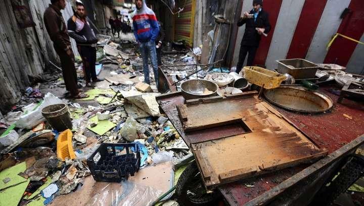 Новый взрыв в Багдаде: 12 человек погибли, 50 ранены