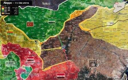 Причины поражений Турок под Аль-Бабом в Сирии