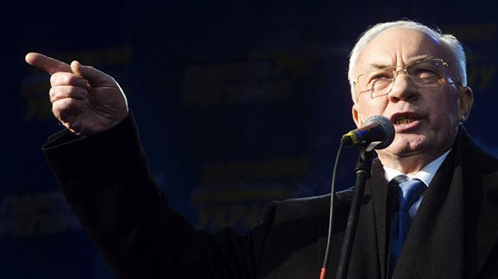 Николай Азаров готов создать правительство Украины в изгнании