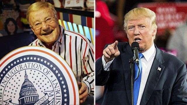 89-летний Чарльз Бротнам был впервые приглашен на церемонию при президенте Эйзенхауэре.