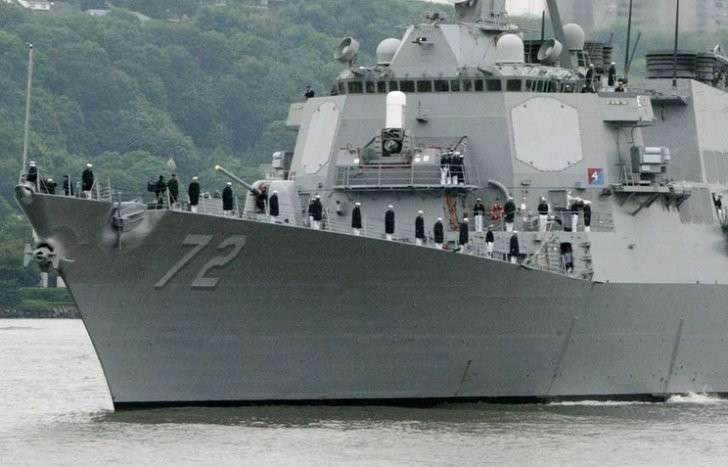 Эсминец ВМС США Mahan