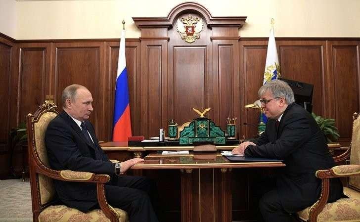Ярослав Кузьминов информировал Владимира Путина оходе реализации программы поддержки российских вузов– Проекте «5–100»