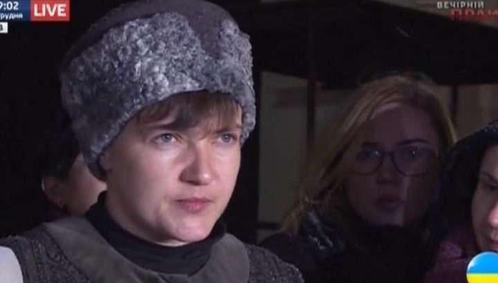 Убийца Савченко опубликовала списки военнопленных карателей, содержащихся в ЛДНР