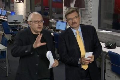 Конец киселевщины на Украине: журналистов-русофобов Киселева и Ганапольского власть утопила в медийном сортире