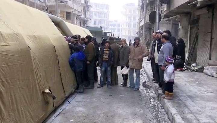 Российские врачи вылечили и поставили на ноги сотни жителей Алеппо