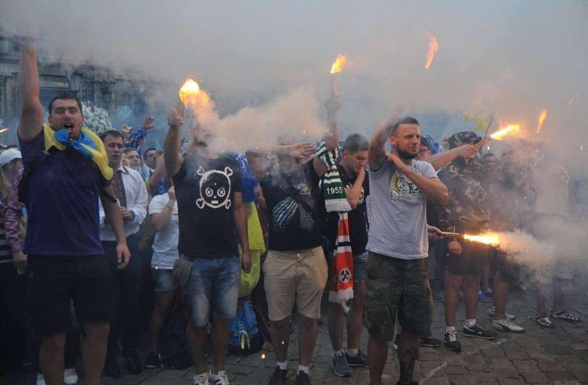 Ёжики в тумане Западной Украины