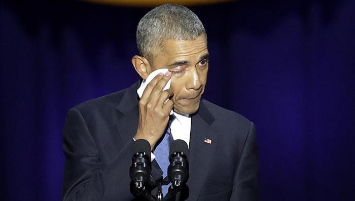 Обама заплакал: Прощальный твит Чёрного Властелина бьет рекорды популярности у американцев