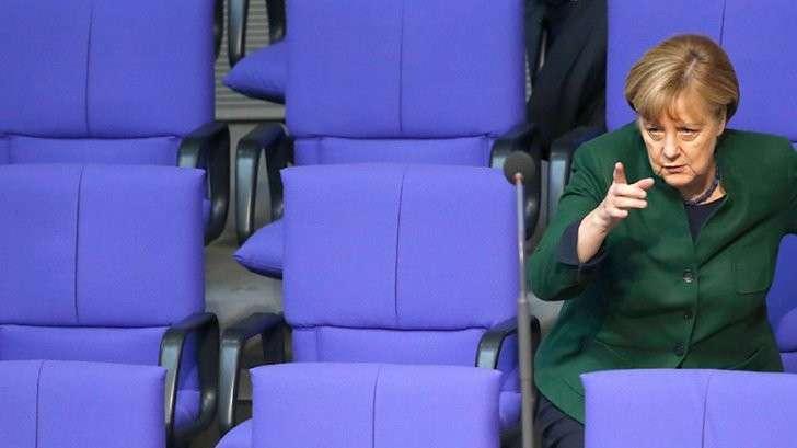 партия пытается заменить Меркель на другого кандидата