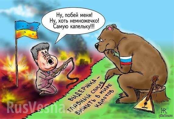 Вторжение в Украину — тайное желание украинцев