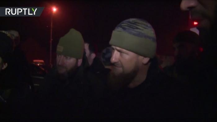 В Чечне группа во главе с Рамзаном Кадыровым уничтожила четырёх боевиков