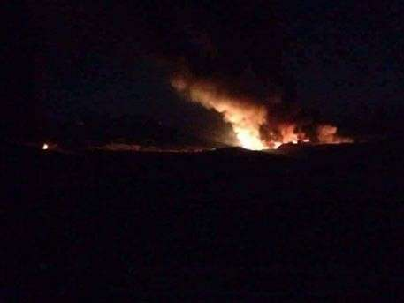Израильские террористы атаковали военный аэродром под Дамаском