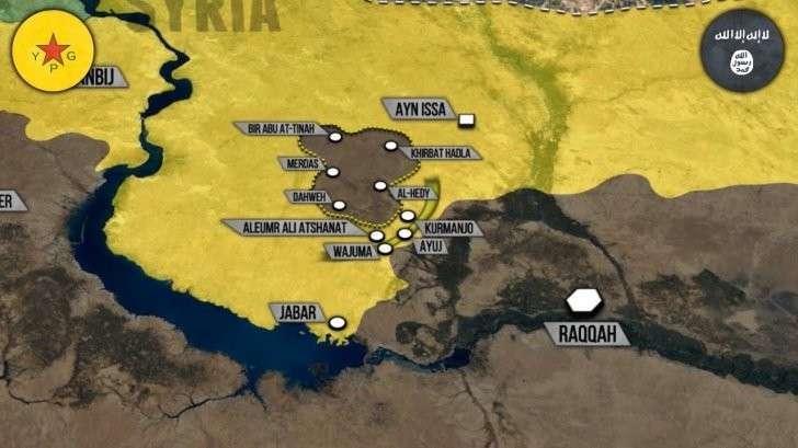 Военная обстановка в Сирии: Курды YPG взяли ИГИЛ в котел