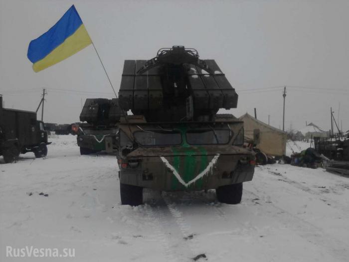 Ожесточенные бои в ДНР: обстрелы под Дебальцево, Донецка и Горловки